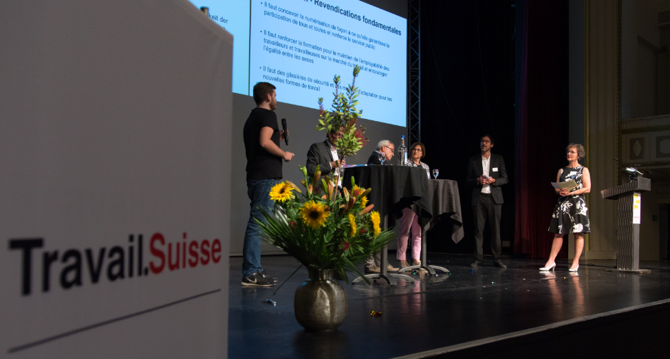 Kongress, Digitalisierung, Podium